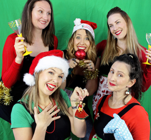 Christmas, tale, GAG, Girls Act Good, Butterfly Club, Melbourne, verbatim, theatre, comedy, acting, Jennifer Monk