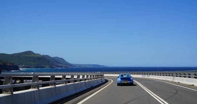 Cliff to Coast, Sydney Porsche Hire, Porsche, Luxury Sportscar Hire