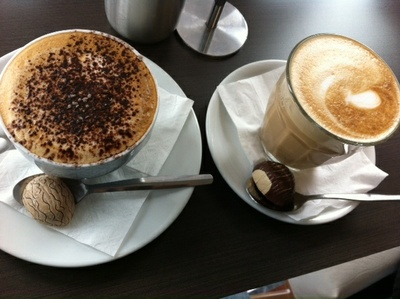 Coffee at Frank's Cakes