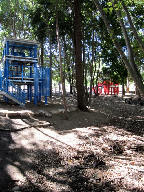 discovery forest, fort, bob gamble park, ipswich
