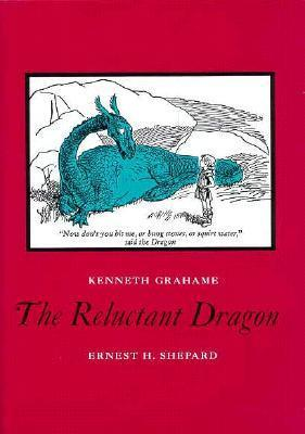 dragons, books about dragons, childrens books, fantasy books, Kenneth Grahame, The Reluctant Dragon