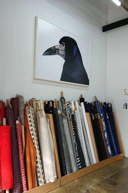 fabric store adelaide city designer sewing craft fashion student fashionista