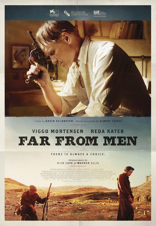 """with the guest by andrew camus David oelhoffen's latest film, far from men, is based on albert camus' short story  """"the guest"""" set during the algerian war and shot in the."""