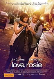 film poster, film, Love, Rosie, Lily Collins, Sam Claflin, Christian Ditter