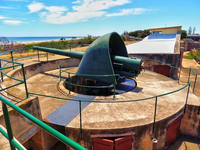 fort largs, fort largs police academy, australian forts, about adelaide, sa police, police academy, coastal fort, sapol, heritage sites, artillery guns