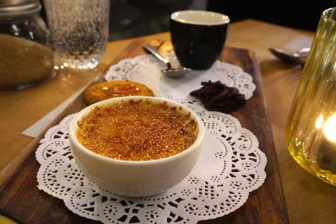 Frenchies Brasserie, Creme brulee
