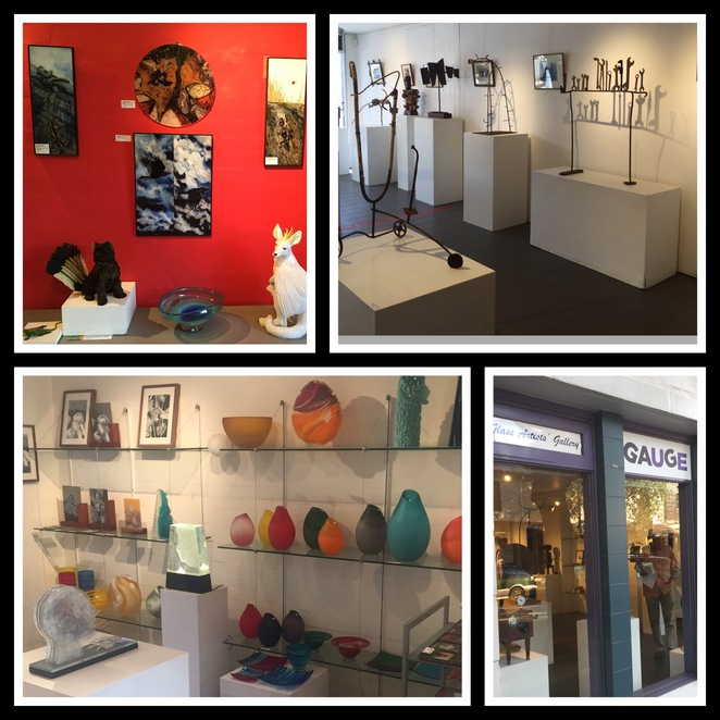 Gauge Galleries, glass art, art for sale, glebe