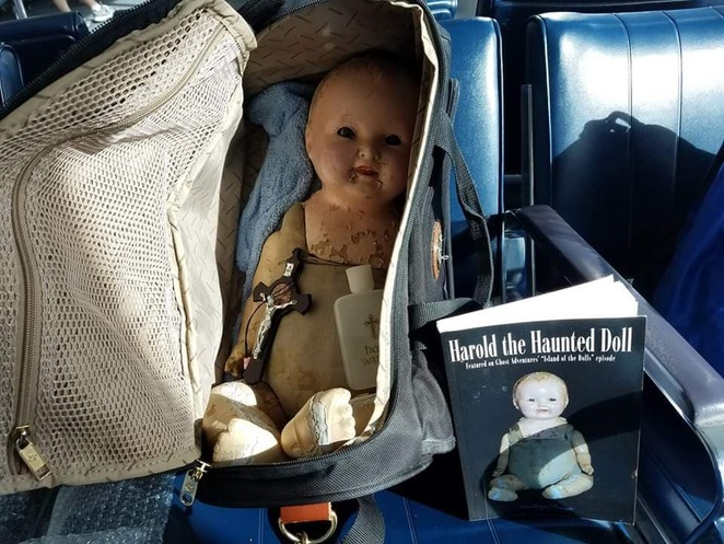 Harold the Haunted Doll Black Rock House