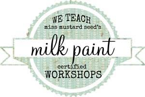 How to classes using miss mustard seed's milk paints shacked up