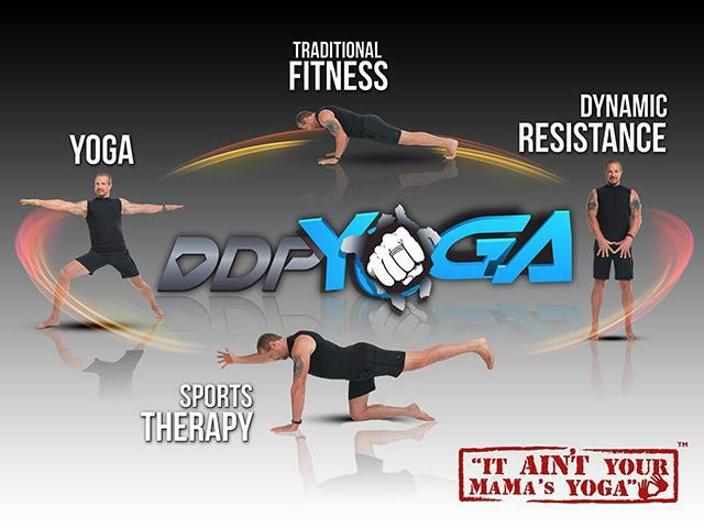 Increase strength and fitness by working out at home with DDP Yoga