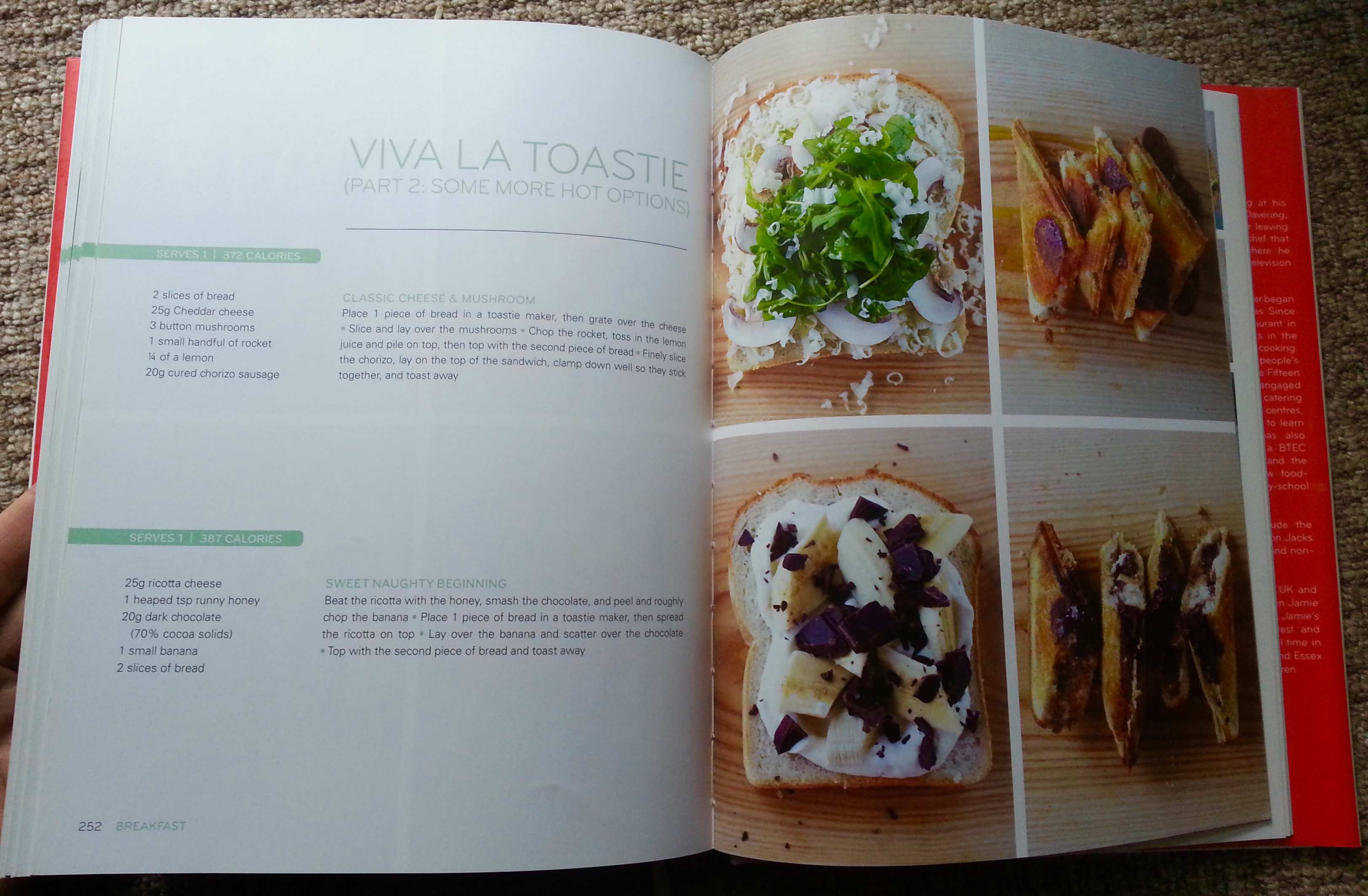 Jamies 15 minute meals book review everywhere jamies 15 minute meals jamie oliver recipe book toasties toasted sandwiches forumfinder Choice Image