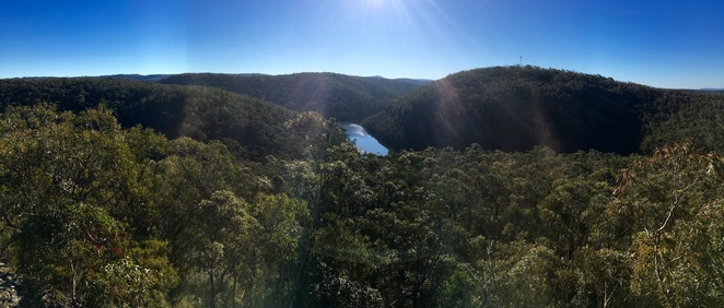 Lake Woodford, Blue Mountains Bushwalk, Woodford Dam, Blue Mountains Lake walk, Jade Jackson Photography