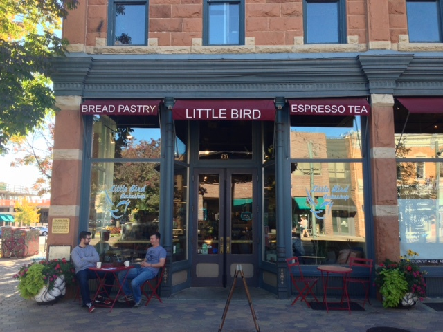 little bird bakeshop, fort collins, coffee shops in fort collins, fort collins colorado, cities in colorado, apple cinnamon muffins, things to do in fort collins