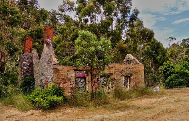 mackereth cottage, scott creek, scott creek conservation park, south australia, george mackereth, in adelaide, almanda silver mine