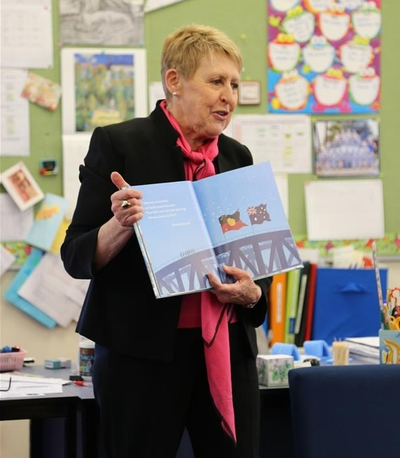 Mem Fox visit reading Thomas Hassall Anglican College
