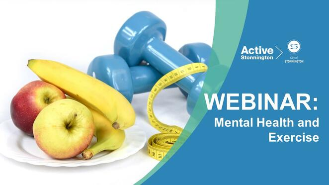mental health and exercise webinar, personal trainer ashley, webinar food for health, dietitian lina la guardia, harold holt swim centre, free online food and health event, eating well, cooking healthy, food topics free online healthy eating tips, snacks, food, immune system, mood, community event, fun things to do, learn something new, personal development