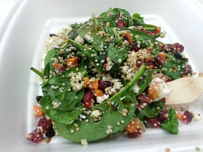monk and grind, monk & grind, sweet potato salad, takeaway fortitude valley