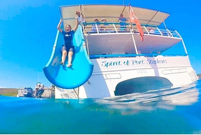 moonshadow cruises, gift vouchers, experience gift ideas, d'albora marinas, nelson bay, nelson bay beach, playground, port stephens, things to do, school holidays, NSW, dolphin watching tours, whale watching,