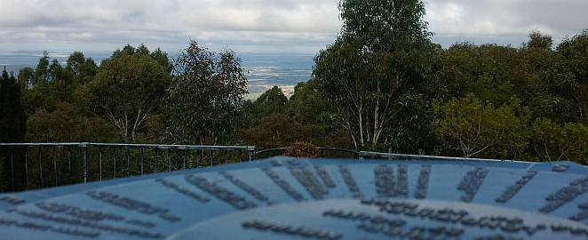 mount macedon, view, melbourne, city