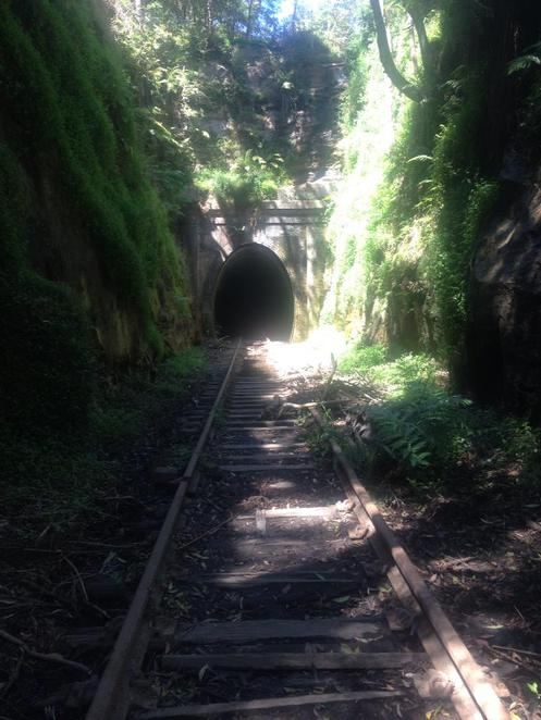 Old Helensburgh Railway Tunnels