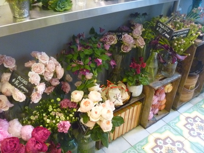 Polux Feluriste - Florist at the All Good Things Market Tribeca New York