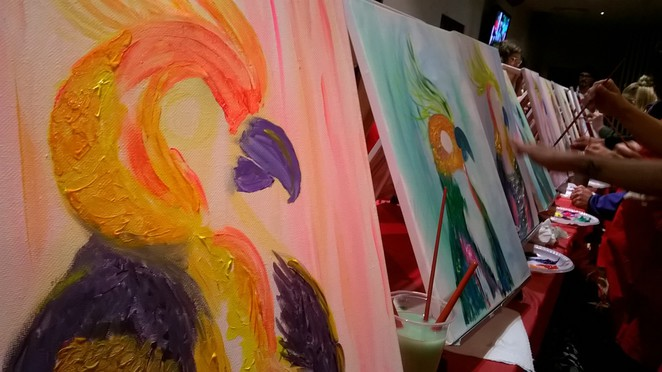 Paint the Nite, Painting, Class, Workshop