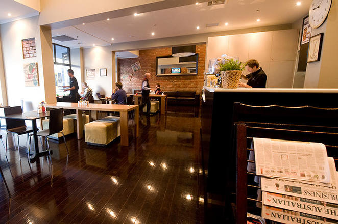 pensione hotel melbourne, oliviers cafe, hotels melbourne, breakfast melbourne, coffee melbourne,