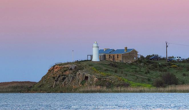 Point Malcolm lighthouse Narrung Coorong