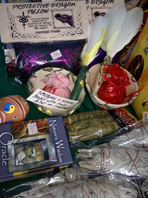 protective pillow, spells, oils, incense, St andrews market,