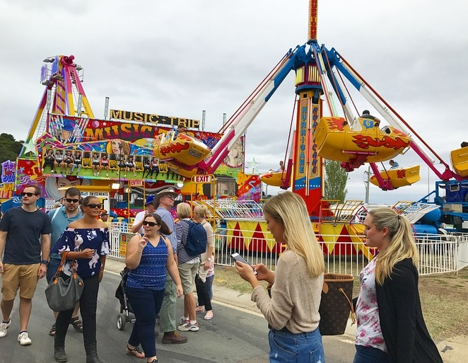 Royal Canberra Show, agricultural show, Canberra summer events, animals, arts and crafts