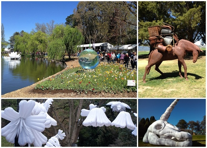 sculptures, art, floriade, canberra, 2018, 2019, 2020, whats on, things to do, best things to see, art, floral, flowers, australia,