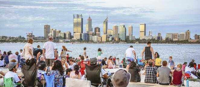 Skyworks Australia Day South Perth 2020