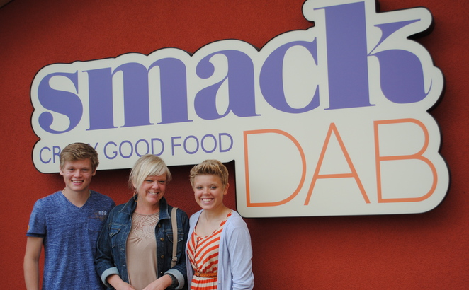 Smack DAB Crazy Good Food, Kelowna, British Columbia