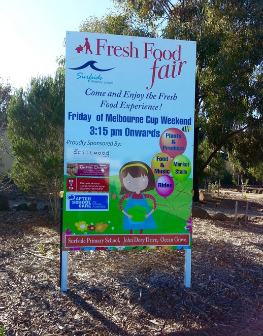 Surfside Primary School, Fresh Food Fair 2016, Ocean Grove
