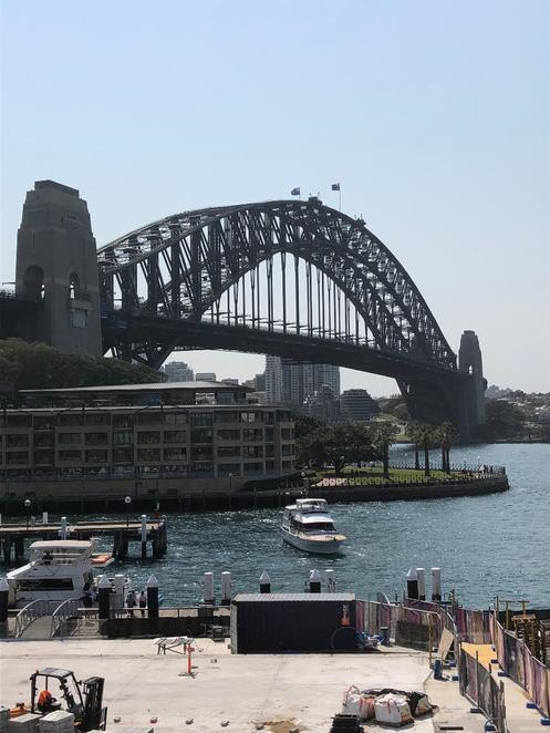Sydney's Best Lookout, Sydney Harbour, Sydney Harbour Bridge, Overseas Passenger Terminal, Free Sydney Walking Tour