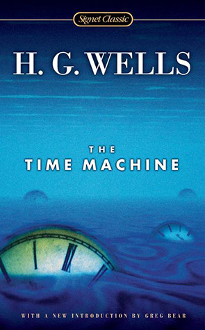 The Time Machine, HG Wells, books about time travel, time travel