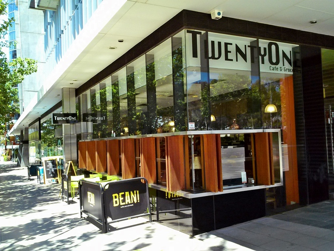 twenty one cafe and groceries, new acton precinct, canberra, nishi building, monster bar, mocan and green grout, canberra, ACT,