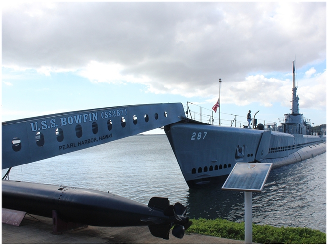 USS bowfin, pearl harbor, museum