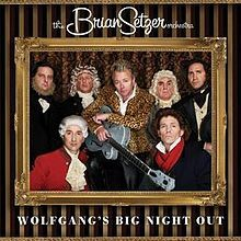 wolfgang's big night out, brian setzer, orchestra, album