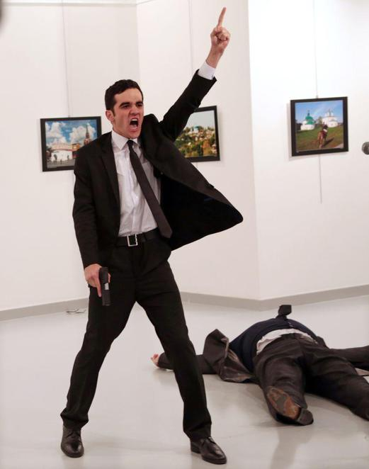 World Press Photo Exhibition, State Library NSW, Burhan Ozbilici