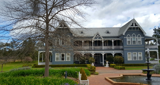 accommodation, Hunter Valley, scenic, views