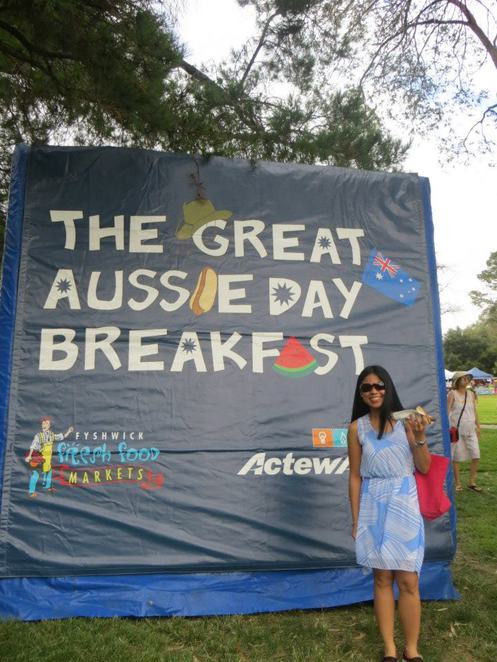 australia day commonwealth park canberra fyshwick free BBQ