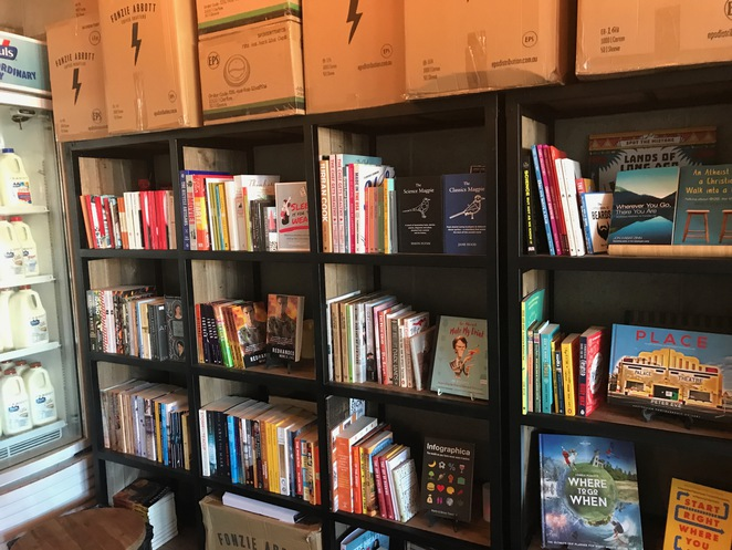 books, coffee, cafe, yeppoon, chapter