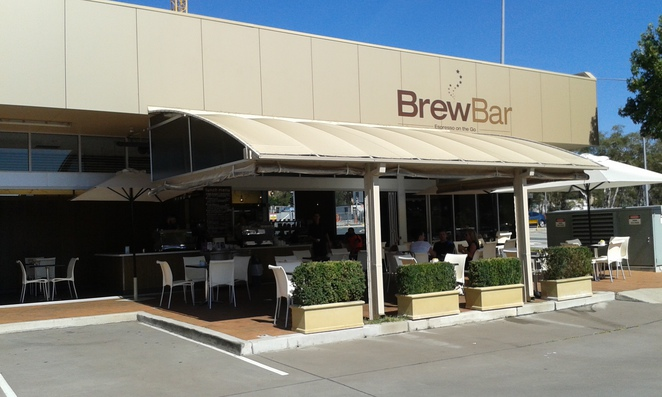 Brew Bar, Reed street, best coffee in tuggeranong, coffee, cafes, breakfast, lunch, ACT, canberra, cakes, outdoor seating,