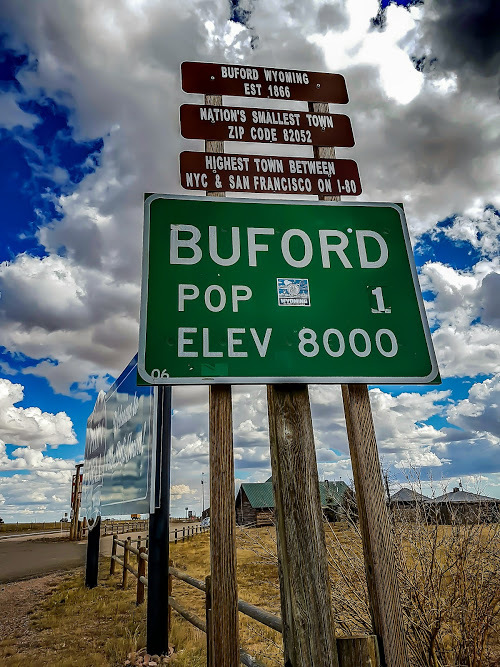 Buford Wyoming Smalls Town In America Highest Elevation 8000ft Phkn Deli