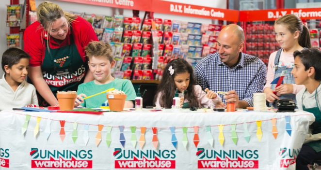 bunnings, Free, sausage sizzle, father's day, 2018, family night, melbourne, free stuff, kids, face painting, DIY, free craft,