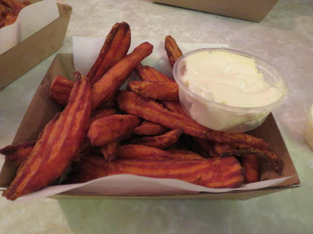 BurgAnomix, Sweet Potato Chips, Adelaide