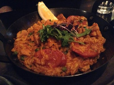 Chicken paella @ Oscar's Table #BED