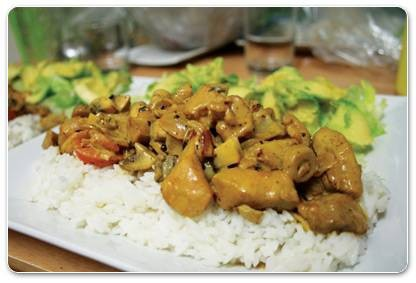 Tuesday nights, Curry Nights in Central Geelong