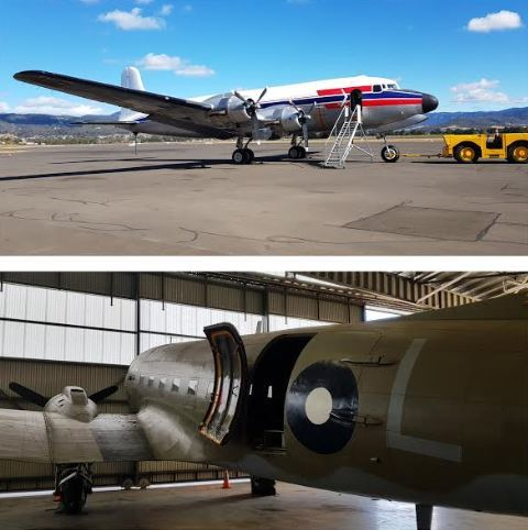 dc-4, dc-3, aviation museum, HARS, sydney